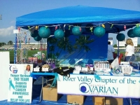 Teal in Tahiti fundraiser for the River Valley Ovarian Cancer Coalition