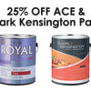 25% OFF ACE & CLARK KENSINGTON PAINT