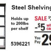 Steel Shelving Unit