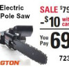Remington 2-in-1 Electric Chain Saw/Pole Saw