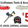 Irwin & Craftsman Tools & Accessories