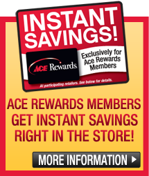 ACE Rewards Instant Savings