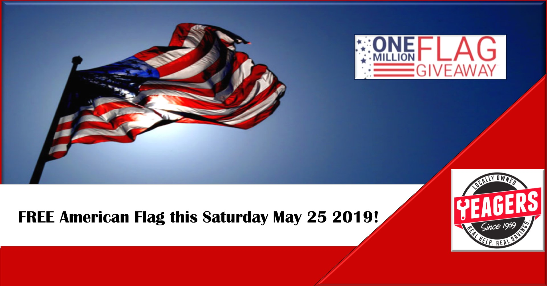 One Million Flag Giveaway