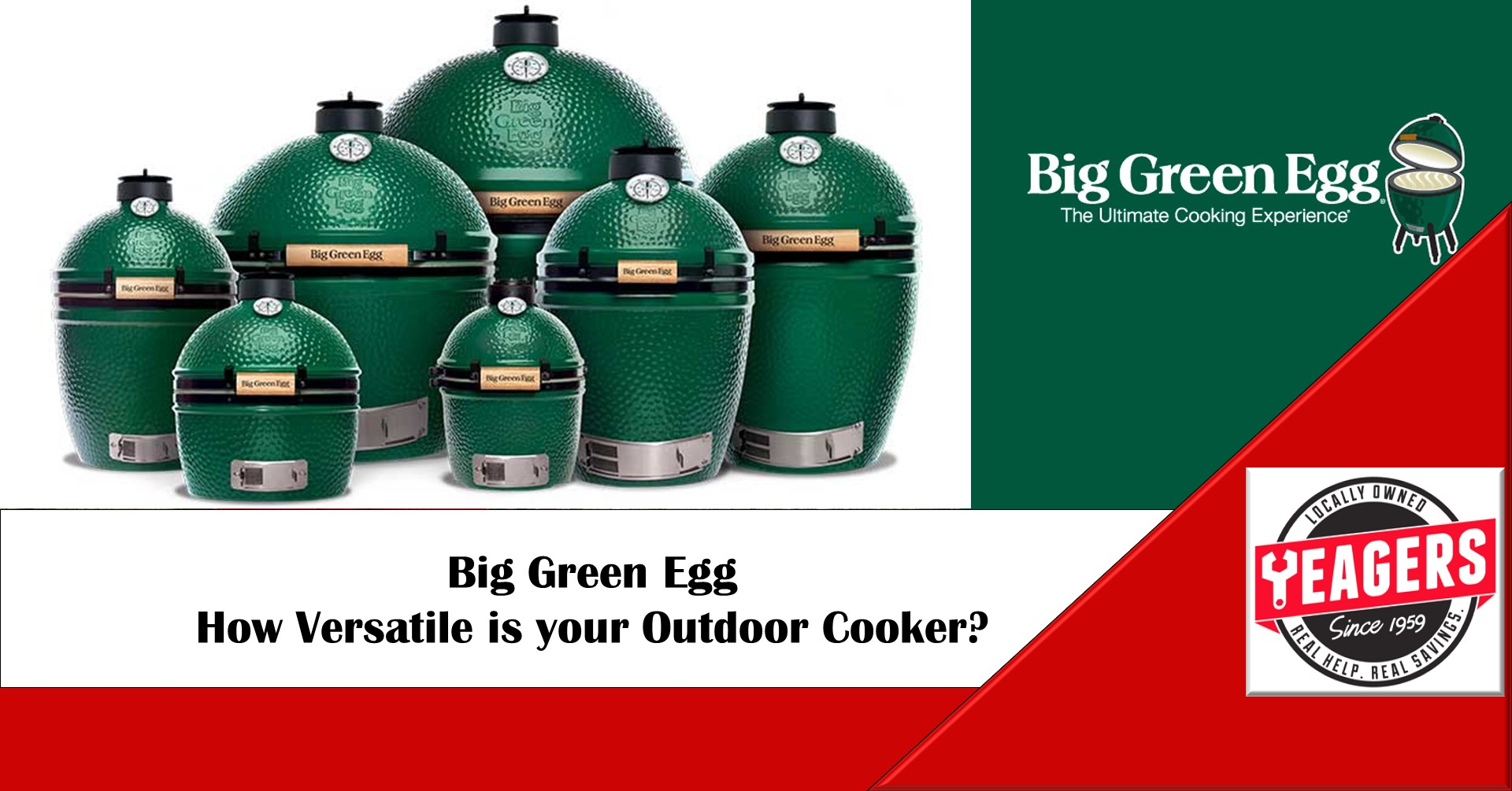 The Big Green Egg is a Big Deal