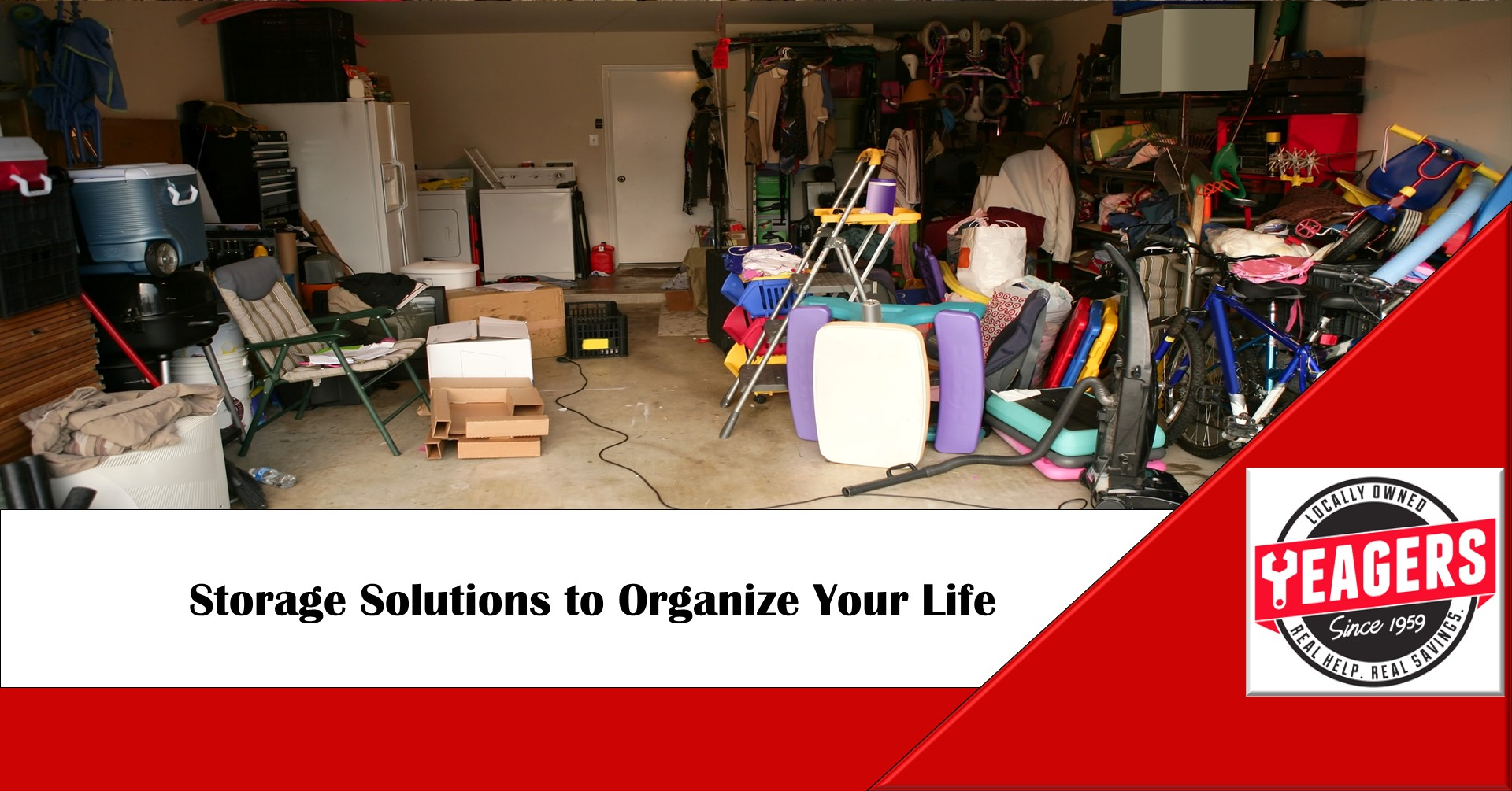 Storage solutions to keep yourself organized