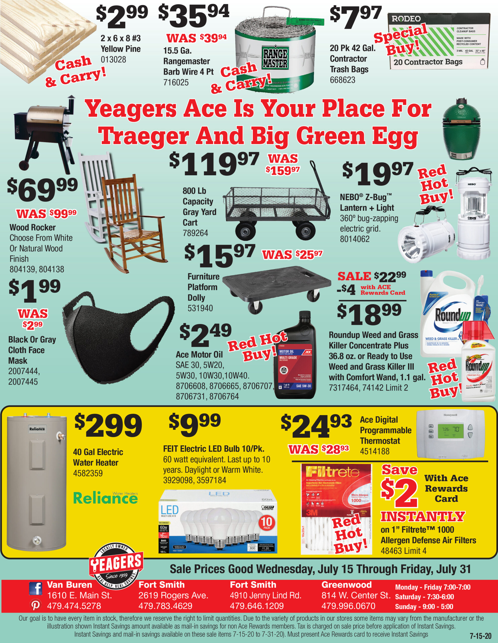 Yeagers 7-15 7-31 pg 2