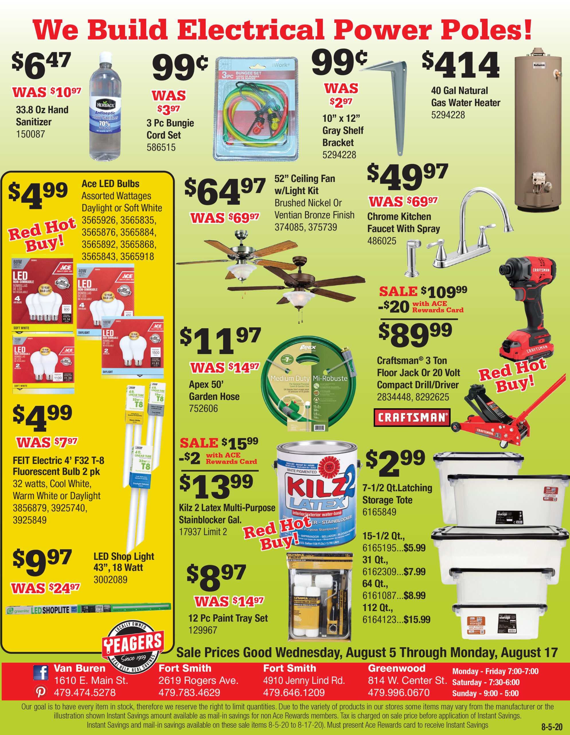 Yeagers 8-5 Flyer-pg2